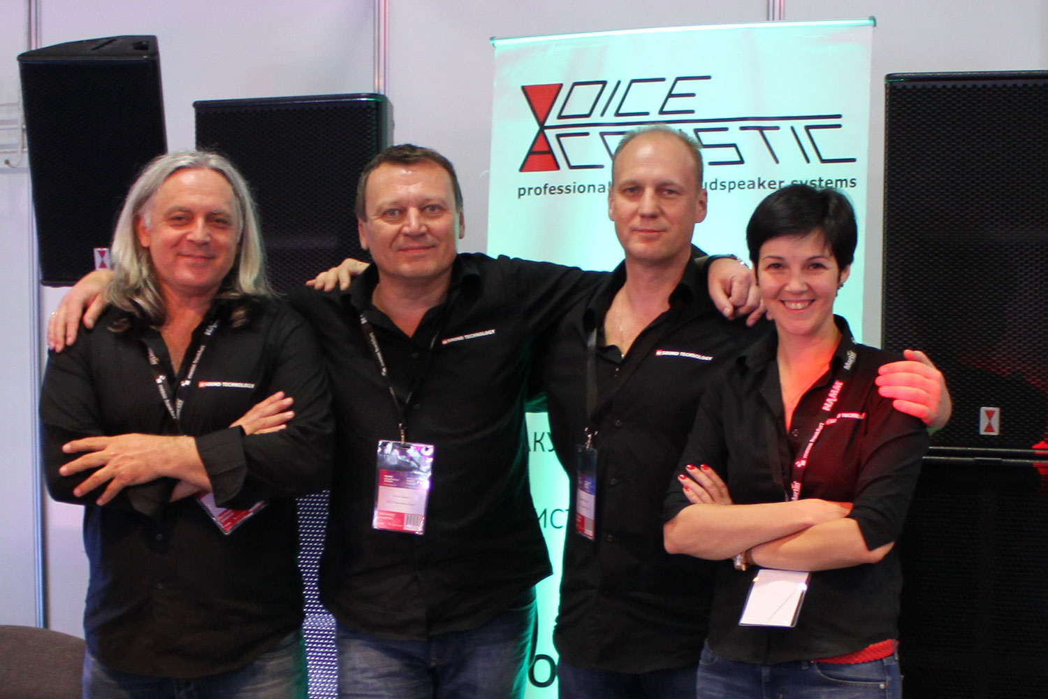 Voice-Acoustic on the fair Prolight + Sound NAMM Russia