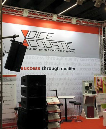Voice-Acoustic at prolight+sound 2015