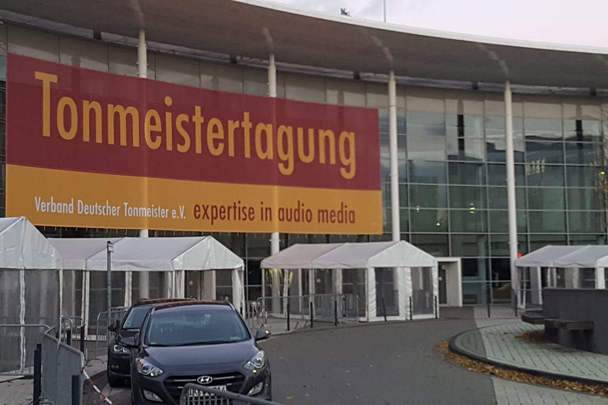 Tonmeistertagung 2018 in Cologne