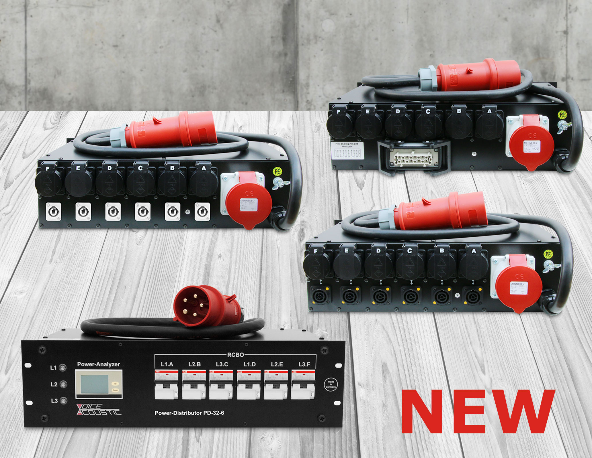Powerdistributor now in three versions