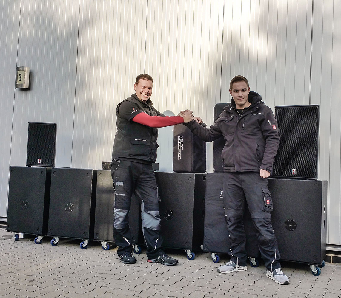 Sound-Patrol invest again in Voice-Acoustic sound systems