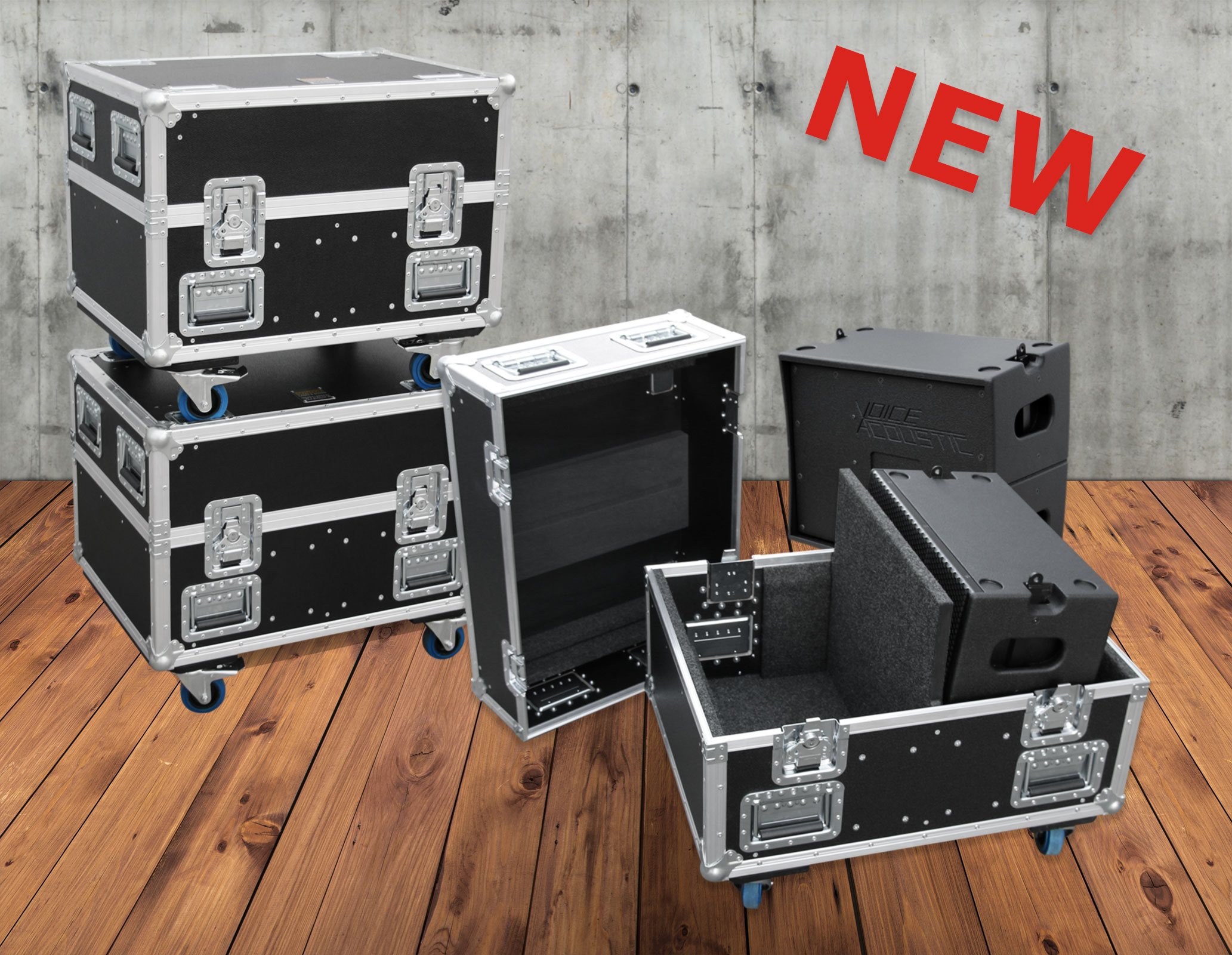 New in the program: Heavy-Duty Flightcase Ikarray-8