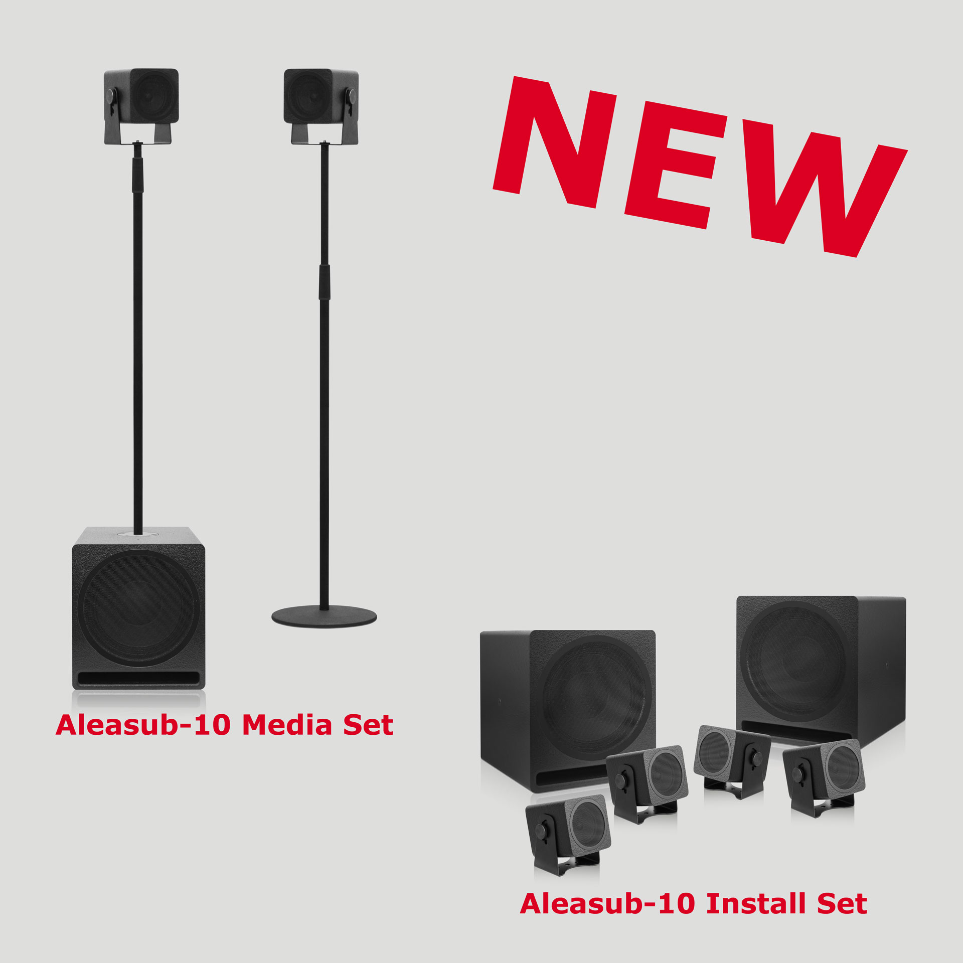 New in the program: Aleasub-10 Sets